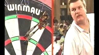 Darts World Masters 1994 Quarter Final Burnett vs Knapskog