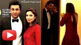 Mahira Khan PLEADS With Ranbir Kapoor   Backstage Video VIRAL
