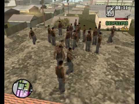 Loquendo GTA San Andreas CJ vs Lider Traficante y