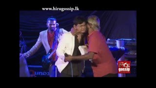 Jolly Seeya and Densil Nugegoda Share Heated Words during a Musical Show