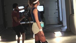 [Behind the scenes] voyAger - Italo disco (starring Anissa Kate )