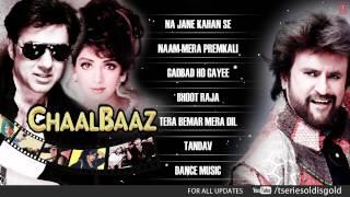 """""""Chaalbaaz"""" Movie Full Songs   Sunny Deol, Sridevi, Rajnikant   Jukebox"""