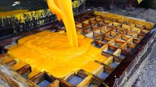 Jaggery Production Process 2018 | Traditional Jaggery Making Process|