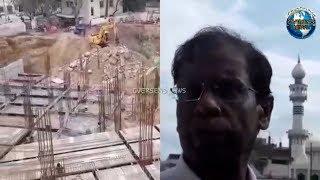 A.K. Khan & Wakf Board Officials Inspect Ongoing Work at Anees Ul Ghurba | Overseas News