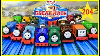 THE GREAT RACE! Thomas and Friends The Great Race #204|Thomas & Friends Thomas Train Toys Kids