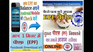 PF Balance Check – How to check your EPF Account Balance & Statements? By ASSA Computer