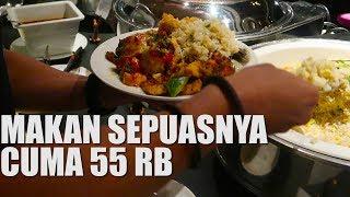 GAK BOHONG!! Tempat Makan All YOU CAN EAT Cuma 55 RB | Dan Dinner di HOTEL GRAND MERCURE BANDUNG