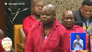 Funny - Honorable Speaker, Hon Speaker, Hon Speaker... EFF Moses Mbatha