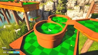 BACK IN THE FOREST! - TOWER UNITE MINIGOLF