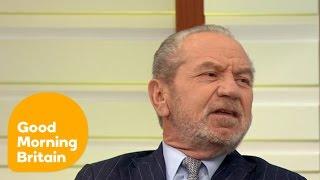 Alan Sugar Slams Donald Trump   Good Morning Britain