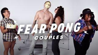 Couples Play Fear Pong (Mattie & Nanta vs. Hannah & Alex)   Fear Pong   Cut
