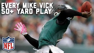 Every Michael Vick 50+ Yard Play | Happy Birthday Michael Vick! | NFL Highlights