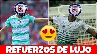 OFICIAL   CRUZ AZUL Va Por Estos 2 REFUERZOS DE LUJO!
