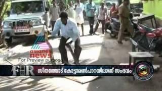 largest king cobra(rajavembala) ever  being caught(malayalam asianet F.I.R).flv