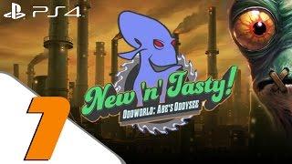 Oddworld New n Tasty - Walkthrough Part 1 - Prologue