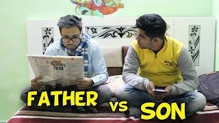 Father Vs Son |funniest Video Baklol Video|