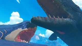 GIANT WHALE vs GIANT MEGALODON - Feed and Grow Fish - Part 112 | Pungence