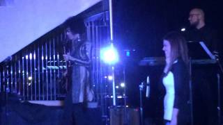 PRINCE jumps on stage with Nikki Leonti for a guitar solo