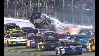 2017 Coke Zero 400 at Daytona - Big Wreck #2