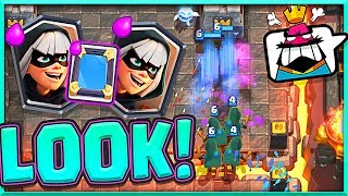 WATCH THIS!! BANDITS X4  • Clash Royale Trolling!