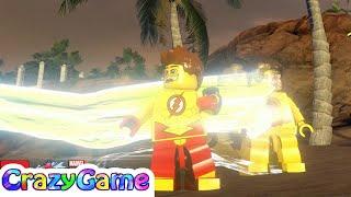 LEGO Kid Flash vs Reverse Flash Free Roam - #LEGO MARVEL's Avengers MOD