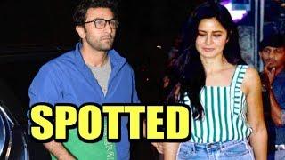 Ranbir Kapoor And Katrina Kaif SPOTTED At Juhu