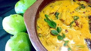 Manga ittuvecha meen curry / Mango fish curry