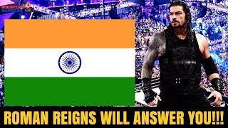 ROMAN REIGNS Will Answer you!! |Appearing on WWE SUNDAY DHAMAAL|