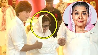Shahrukh Khan Shows Respect For Kuch Kuch Hota Hai Actress Fareeda Jalal