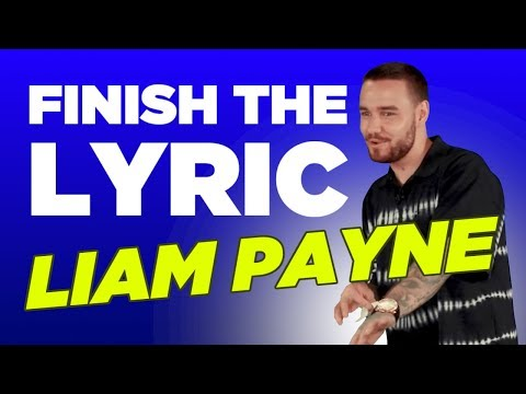 Download Liam Payne Absolutely Bosses 'Finish The Lyric' free