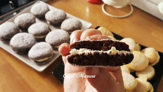 حلوى ايطالية بدون زيت وبدون زبدة 😱 سهلة وسريعة وبنيينة شيف مروى