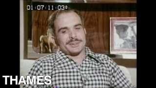 King Hussein of Jordan - Interview - Jordan