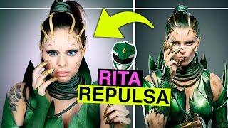 POWER RANGERS - RITA REPULSA - Makeup & DIY Kostüm