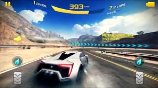 Asphalt 8 Gameplay with Lykan HyperSport