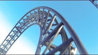 Abyss Roller Coaster POV Adventure World Perth Australia 2013 On-Ride