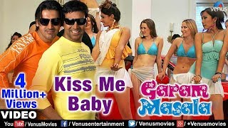 Kiss Be Baby Full Video Song | Garam Masala | Akshay Kumar, John Abraham | Adnan Sami