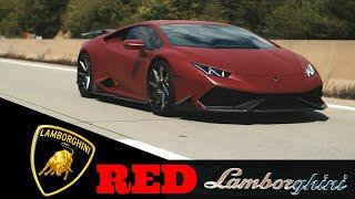 Lamborghini red colour car - super best top speed cute nice lovely toy racing - music - SCREENSHOTZ