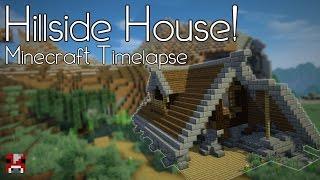 Minecraft Timelapse - Medieval Hillside House (WORLD DOWNLOAD)