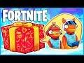 *NEW* PRESENT SURPRISE TRAP in Fortnite: Battle Royale! (Fortnite Funny Moments & Fails)