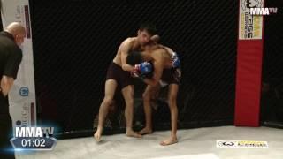 Dilawar Nasir vs Robert Redford - 125lbs Amateur MMA Contest