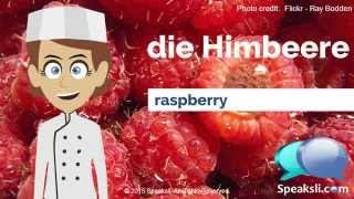 Fruits and Vegetables | Learn German | Speaksli