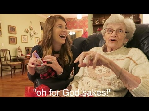 Grandma s HILARIOUS Reaction to Pregnancy Reveal Family Pregnancy Reactions