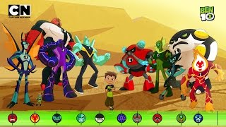 Ben 10 | Meet the Aliens! | Cartoon Network