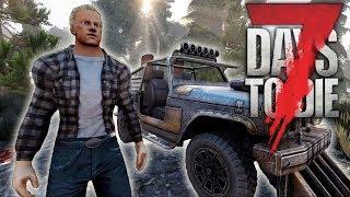TOTALLY OVERHAULED | Alpha 17 Showcase | Testing new vehicles, weapon mods, new zombie AI, NPC's