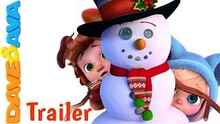 🎅🏻 Santa Claus – Trailer | Christmas Songs for Kids | Christmas Carols from Dave and Ava 🎅🏻