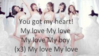 Girl's Day - Cupid Acoustic Ver. (Lyrics on screen) City Hunter OST