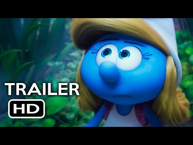 Smurfs: The Lost Village Official Trailer #1 (2017) Animated Movie HD