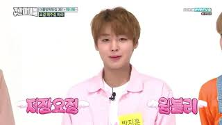 """Wanna One """"Nae maeum soge jeojang"""" at Weekly Idol"""