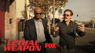 Riggs Asks Roger If He Is More Or Less Angry Since They Met | Season 2 Ep. 13 | LETHAL WEAPON