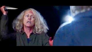 Halloween ALTERNATE ENDING Revealed! Michael Myers Laurie KNIFE FIGHT?!